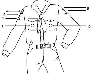 scoutfit insignes